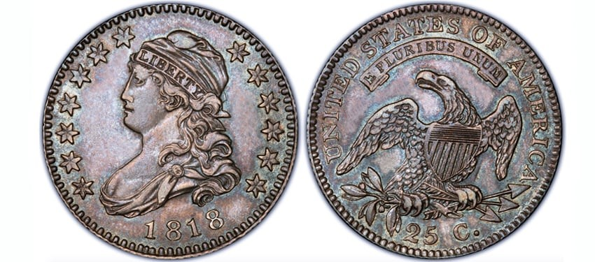 Capped Bust Quarters (1815-1838)