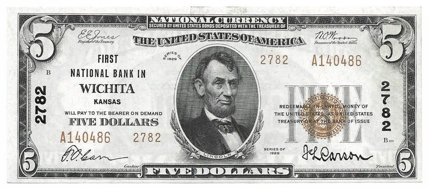 Small-Size National Bank Notes
